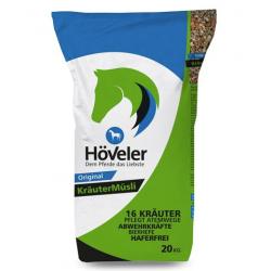 Höveler Kräuter Müsli pro podporu dýchání 20 kg