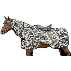 Deka síťovaná jezdecká HKM zebra