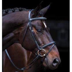 Uzdečka s otěži Horseware Amigo Deluxe Bridle