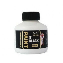Paint it black černý lak na kopyta NAF