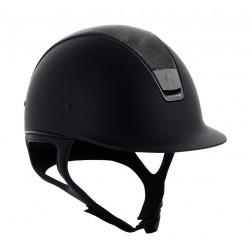 Jezdecká helma Samshield Shadowmatt/black...