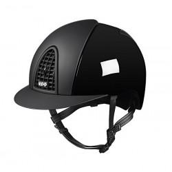 Jezdecká helma KEP Cromo Polish/Textile Black