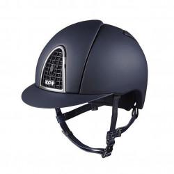 Jezdecká helma KEP Cromo Textile Black Grid